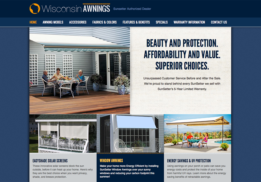 Wisconsin Awnings